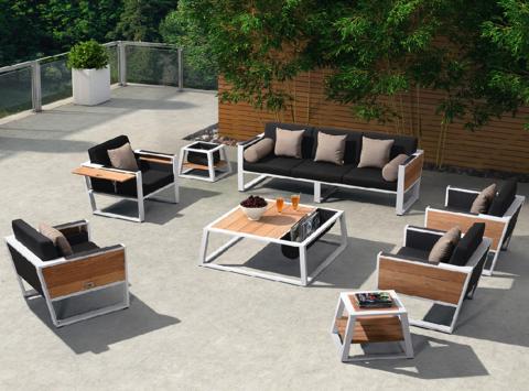 Outdoor Lounge Set Higold York