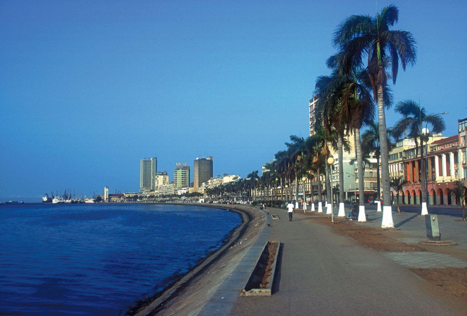 Angola city best images