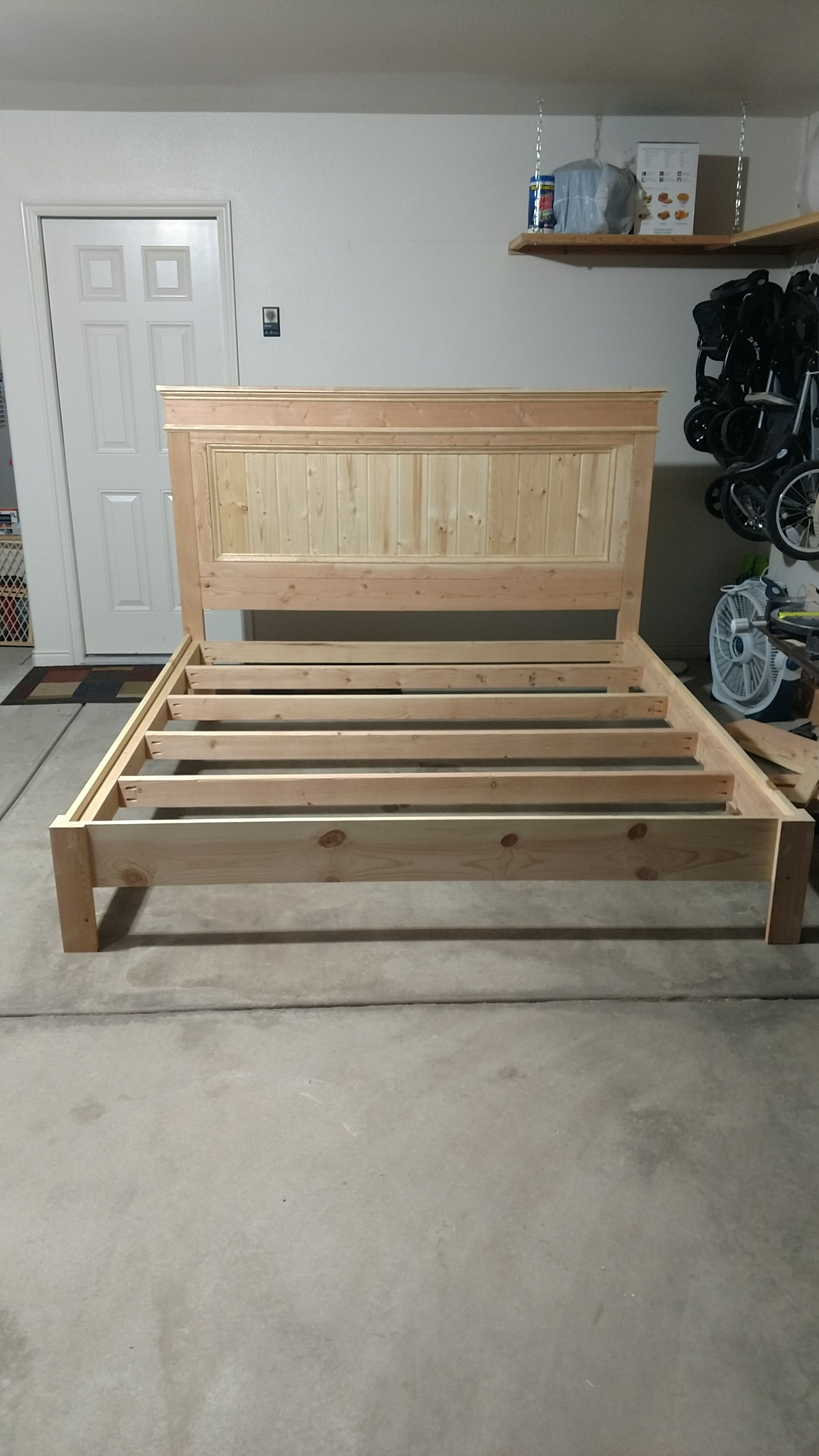 king bed frame with headboard wood on ana white king bed frame diy projects diy king bed frame king size bed frame diy wood bed frame diy ana white king bed frame diy