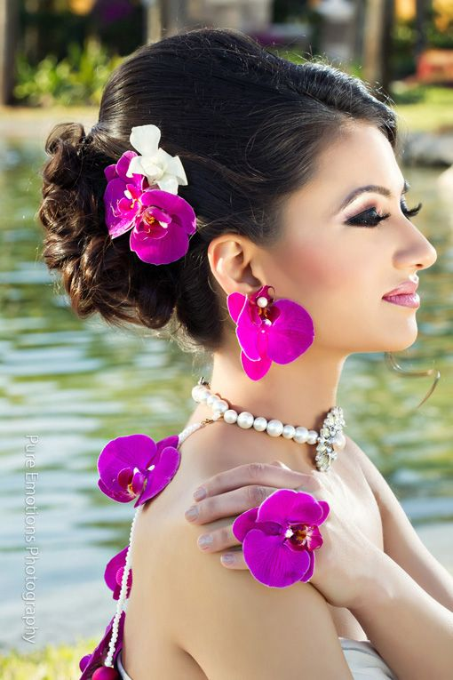 Suhaag Garden Orchid Jewelry Design Indian Wedding 1 Floral Jewellery Wedding Flower Jewelry Bride Floral