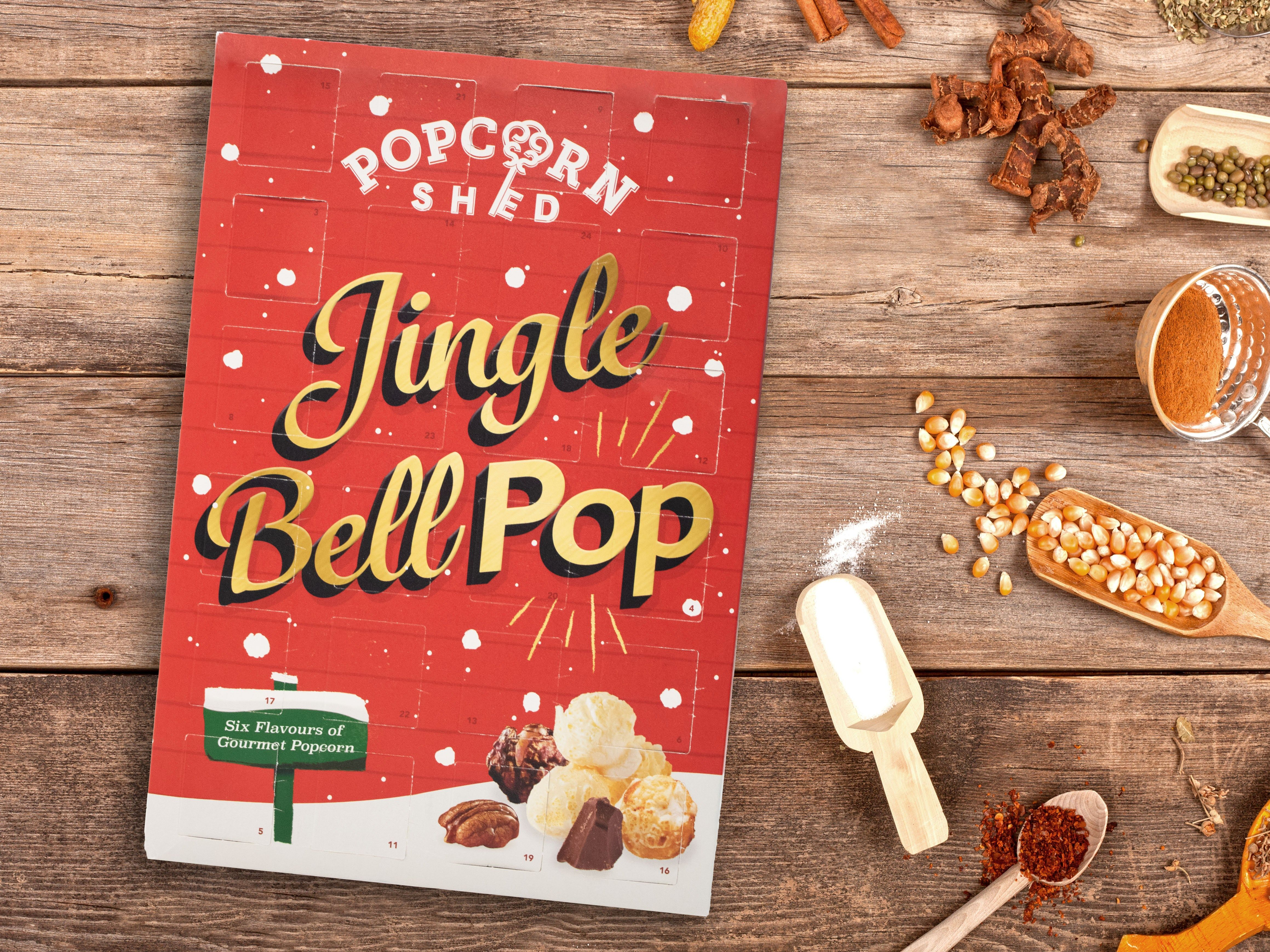 Popcorn Adventskalender Skippa Julgodiset At Popcorn Adventskalender Julklappar Popcorn