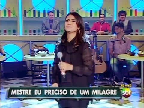 Aline Barros Participa Do Programa Do Ratinho Assista Agora
