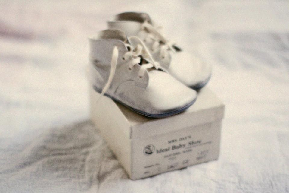 Heless 1947 Baby Shoes