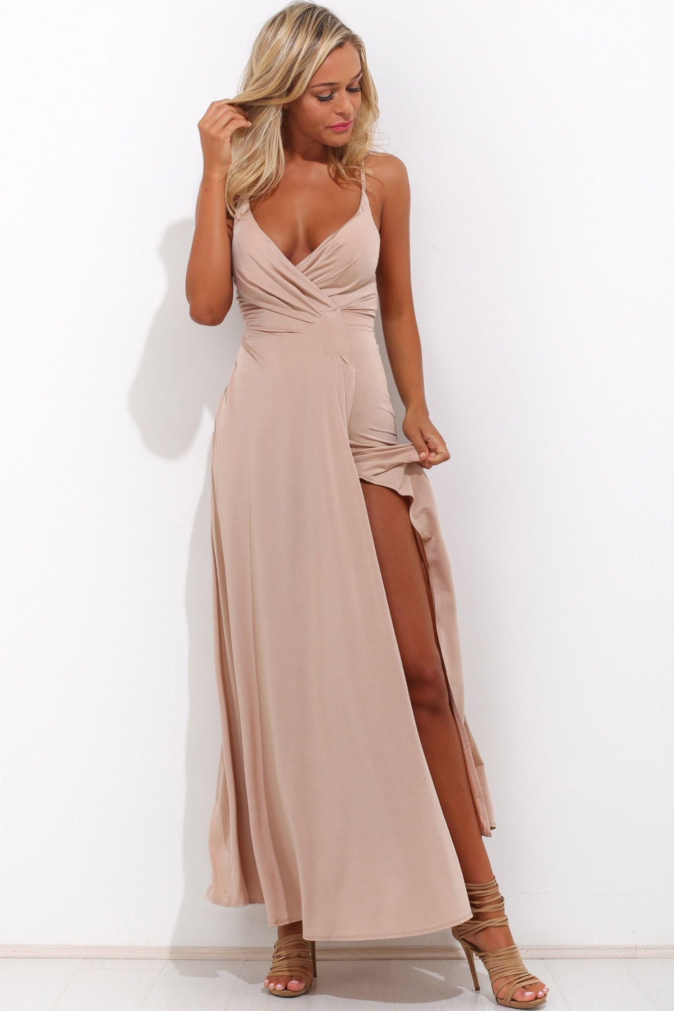 Love somebody maxi dress beige clothes pinterest maxi dresses