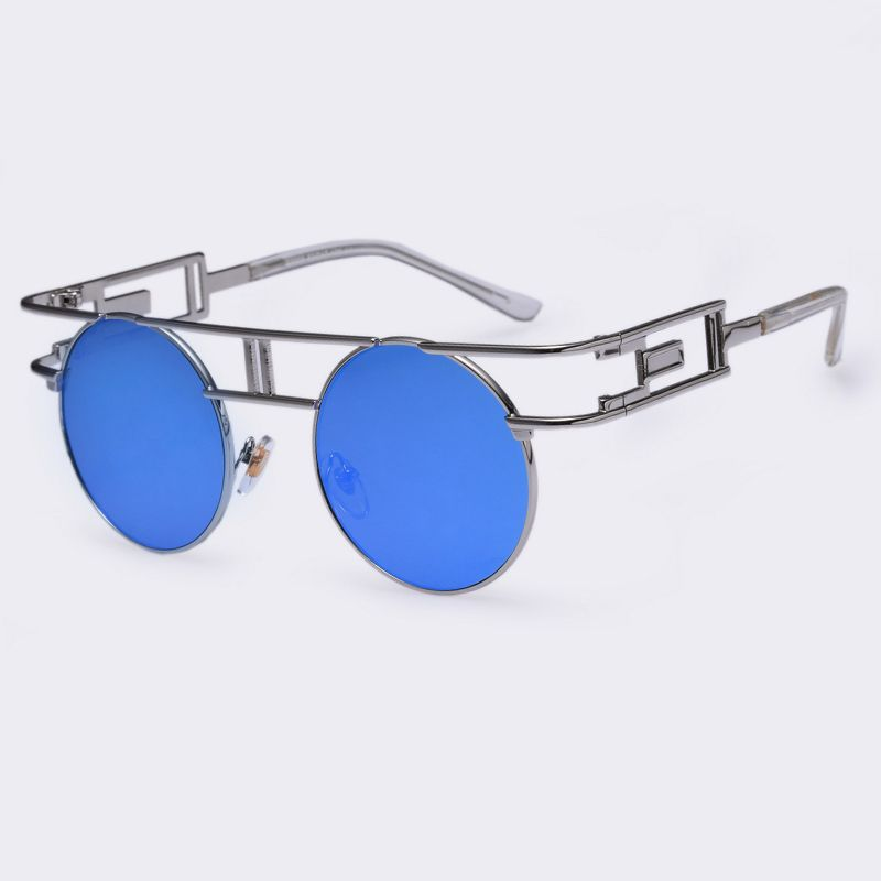 9c150195de519 AOFLY Fashion Metal Frame Steampunk Sunglasses Women Brand Designer Unique  Men Gothic Sun glasses Vintage Oculos