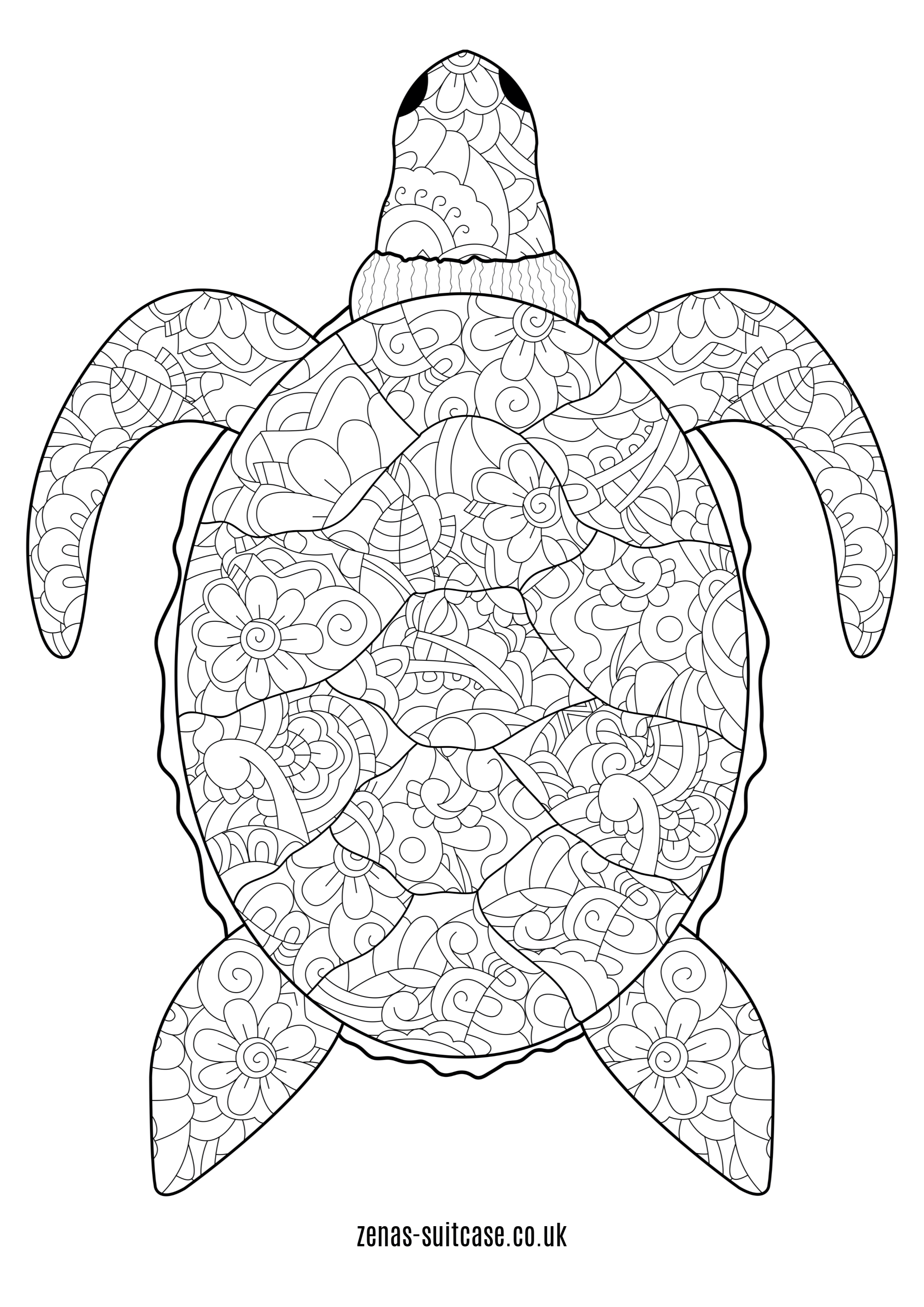 Free Ocean Amp Under The Sea Colouring Pages In