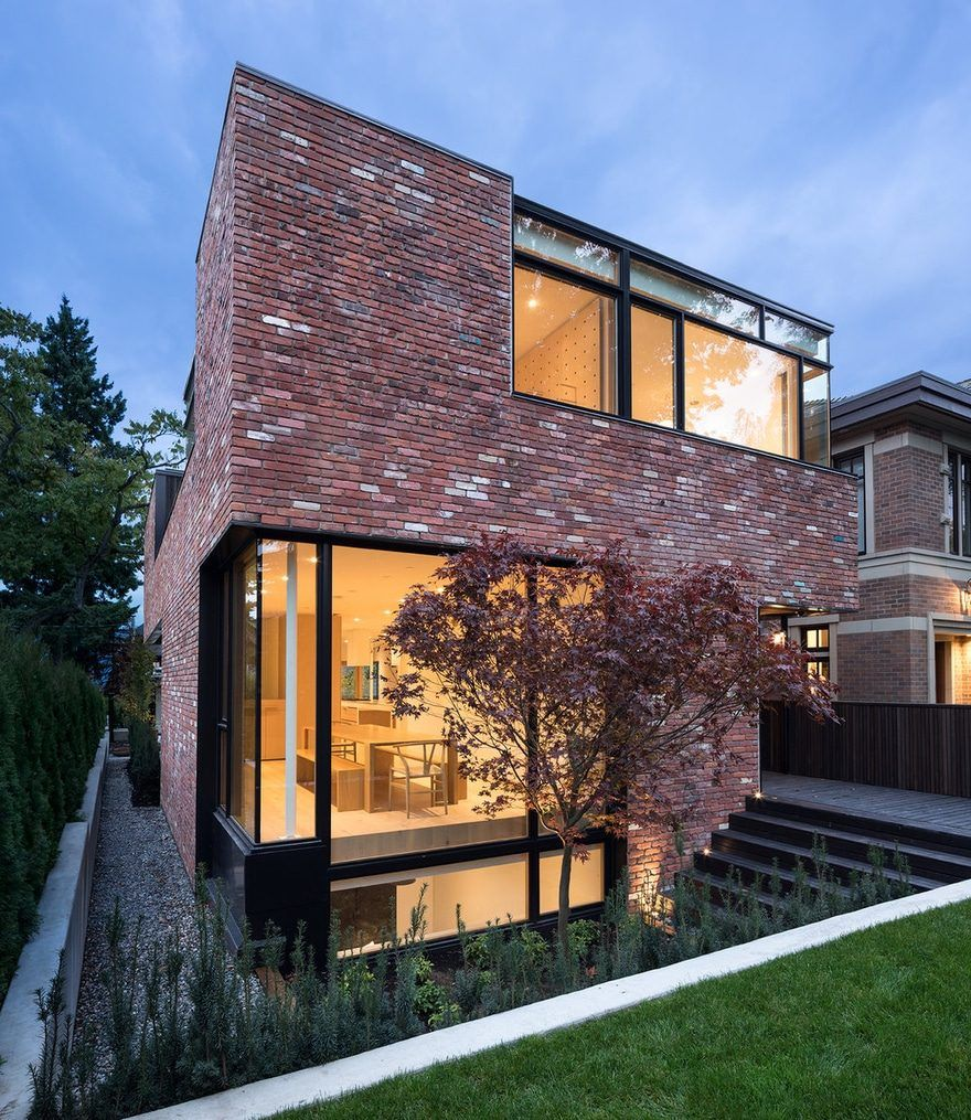 Modern Brick House In Vancouver That Encourages Play Modern