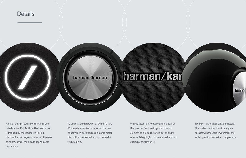 Harman Kardon Omni Wireless Hd Audio System On Behance Harman Kardon Multi Room Audio System Audio System