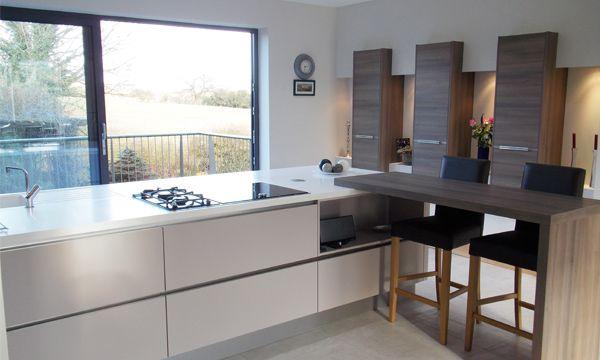 Kitchens Yorkshire  Addingham Kitchen Overlooks Yorkshire Dales Fascinating Modern German Kitchen Designs Inspiration