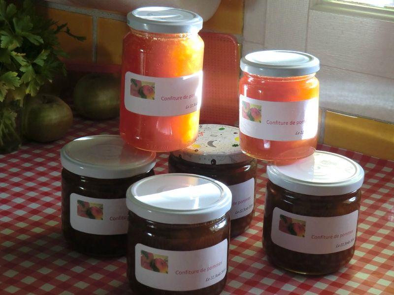 Confiture De Pommes Aux Portes Du Midi Confitures Et Conserves