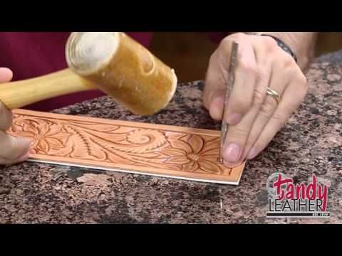 Learning Leathercraft with Jim Linnell – Lesson 7: Backgrounding, Mulefoot, and Stop » Leathercraft Library