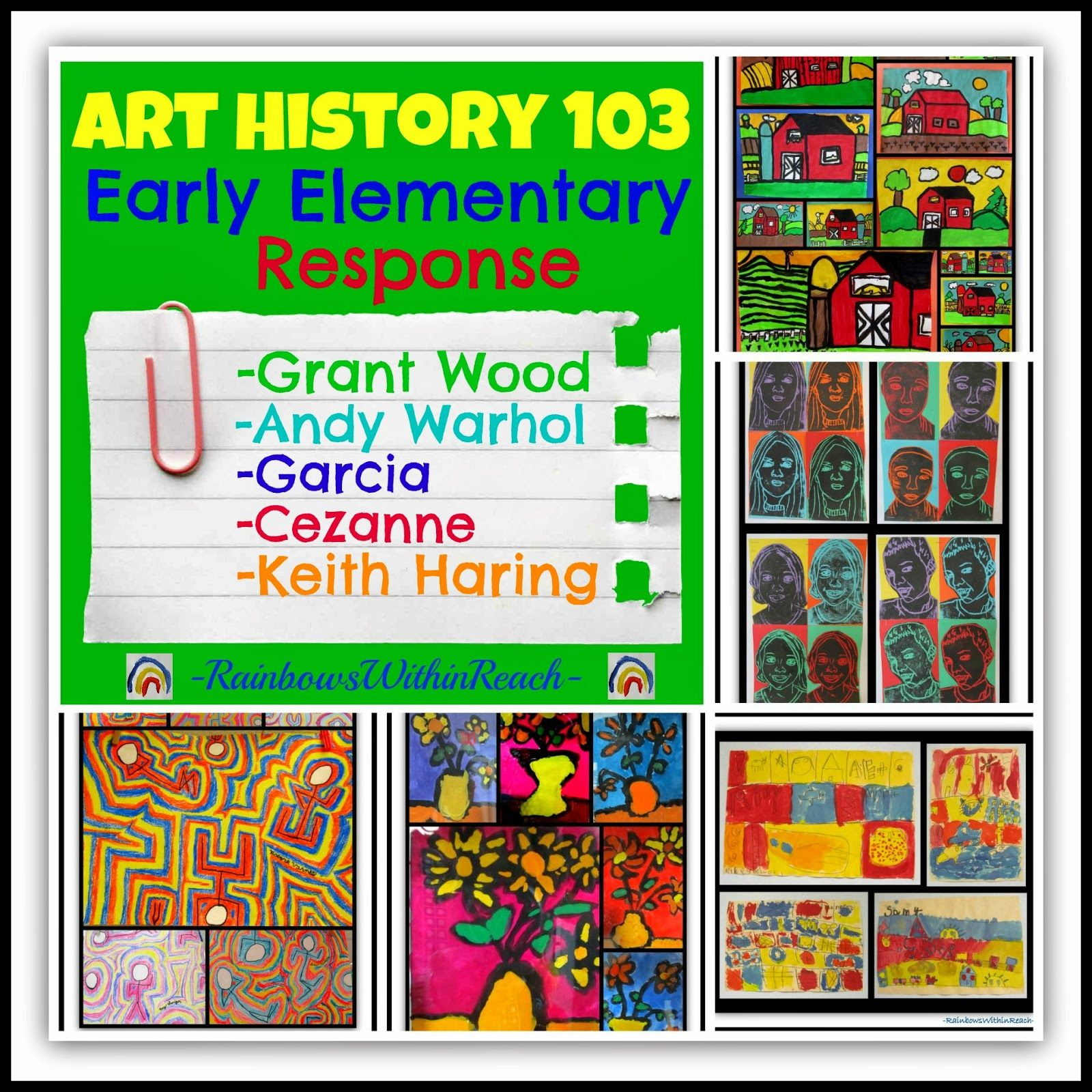 Art History 103 Early Elementary Art Response