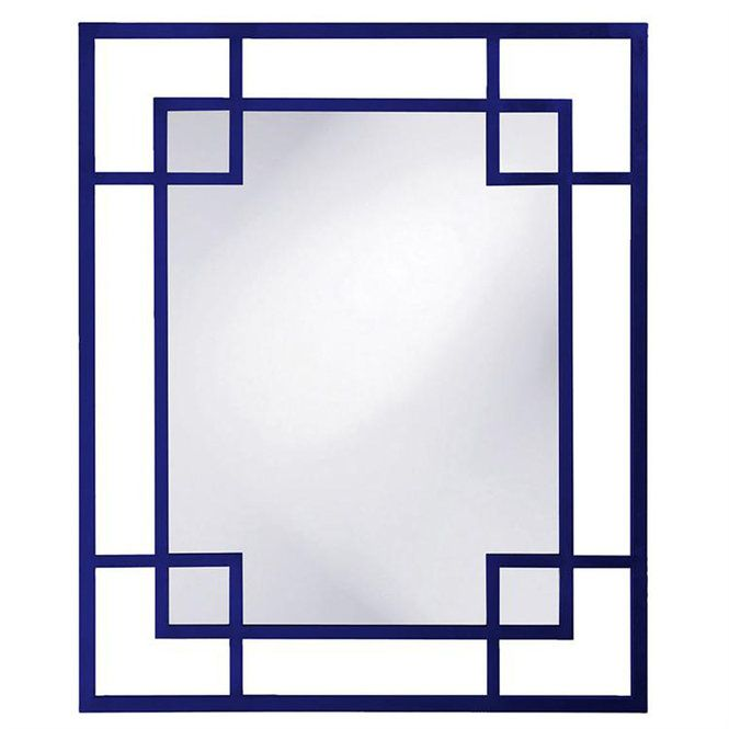 Our Square Within Mirror Features A Rectangular Frame Fashioned From