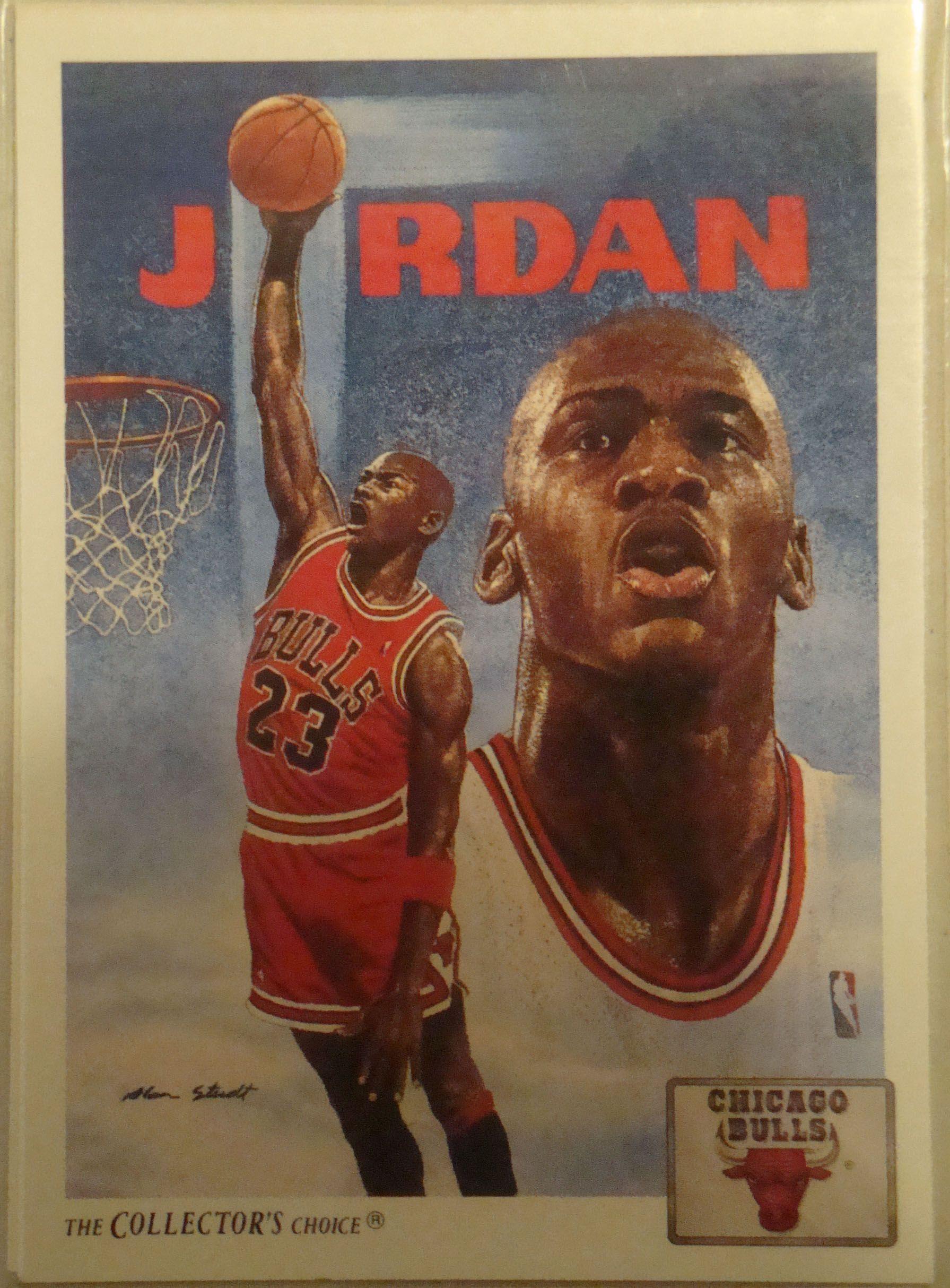Michael Jordan Upper Deck Art Basketball Card Basketball