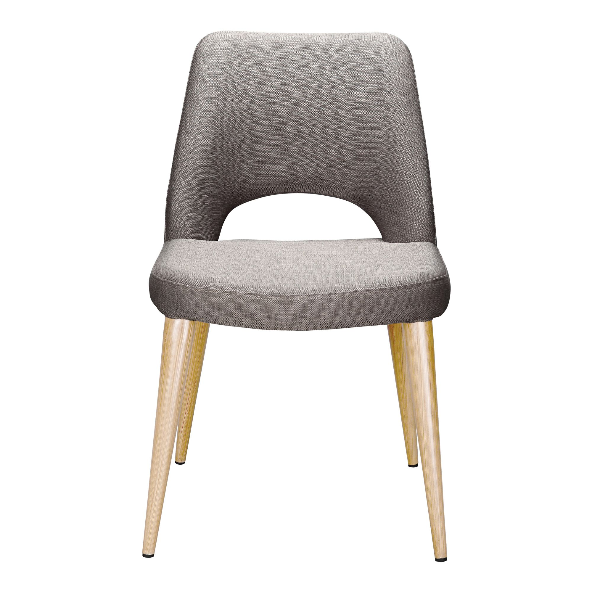 Andre Dining Chair Light Brown M2 Moe S Wholesale Dining Chairs Dining Room Chairs Upholstered Black Dining Chairs Modern