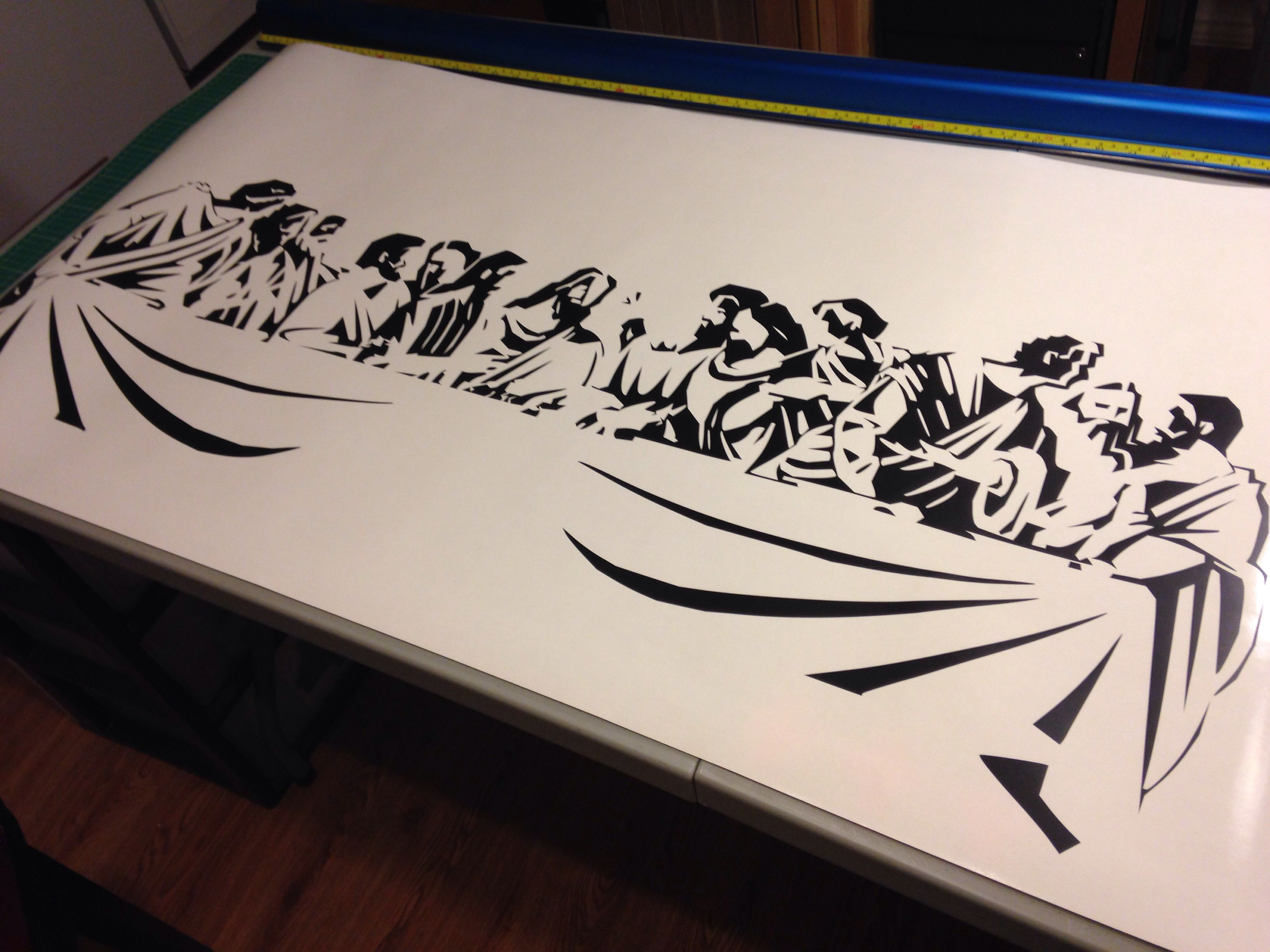 Marvelous Last Supper   Wall Decal Www.79graphix.com LIKE Us On Facebook.com Part 7