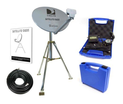 Amazon Com Satellite Oasis Directv Hd Satellite Dish Rv Tripod Kit Electronics Satellite Dish Directv Rv