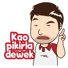 Ferry The Awesome Guy From Palembang By Westicker Sticker 7710427 Palembang Funny Stickers Sticker Set