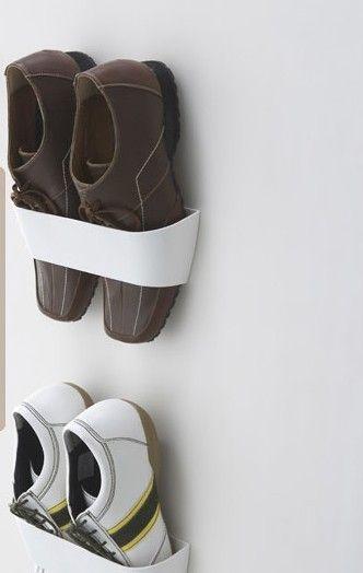 skohylde til væg Creative magnetisk væg skohylde / hængende skohylde 2pcs   $10.49  skohylde til væg