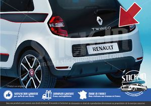 autocollant stickers decals renault coffre boot twingo 3 dimensions origine ebay stick in. Black Bedroom Furniture Sets. Home Design Ideas