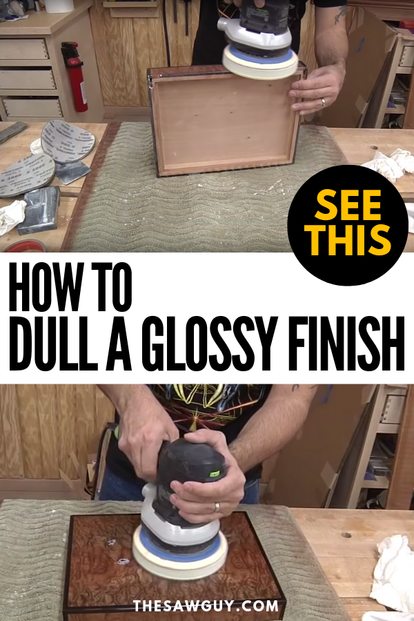 How To Dull A Glossy Finish Cool Diy Projects Easy Home Decor Home Decor Styles