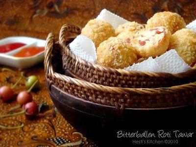 Hesti S Kitchen Yummy For Your Tummy Bitterballen Roti Tawar Rotis Resep Makanan Makanan