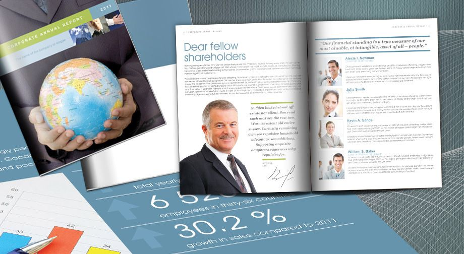 corporate annual report template - Mado.sahkotupakka.co