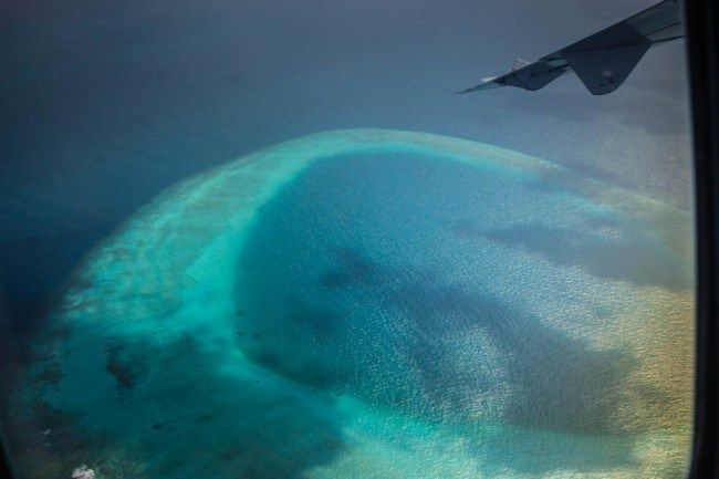 21 Photos That Will Make You Want to Visit the Maldives. The view from a airplane window of the South Ari Atoll. Looking for some travel inspiration? If you're dreaming of the perfect paradise destination,well, you've come to the right place. The Maldives is in a class of it's own when it comes to paradise and offers some of the best beaches in the World. http://www.divergenttravelers.com/travel-photos-maldives/