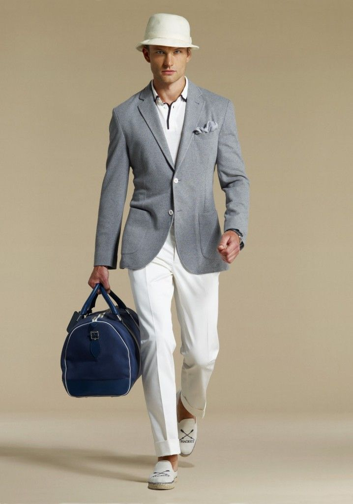HOW MEN SHOULD WEAR WHITE LINEN PANTS | Things that make me think ...