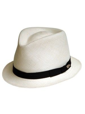 12e495916a0 Bailey Sydney - Panama Straw Fedora Hat - Closeout