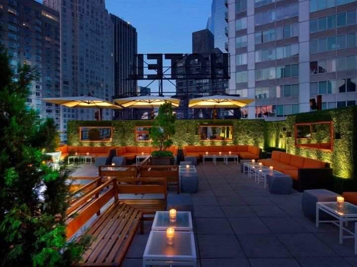 The Historic Empire Hotel Serves Classy Cocktails At Its Rooftop Bar, Which  Has Views Of Lincoln Center And The Upper West Side. Overtime NYC, A Happy  Hour ...