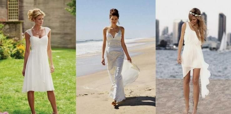 Trendy Casual Beach Wedding Dresses World Trend Fasion Hairstyles Evening