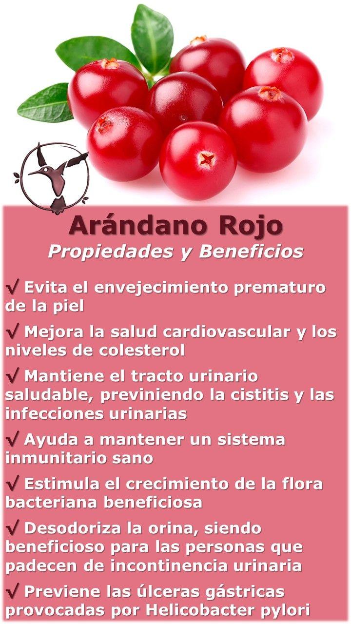 beneficios de tomar jugo de arándanos rojos
