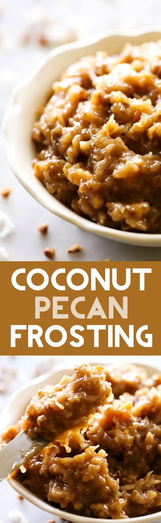 Coconut Pecan Frosting - Chef in Training
