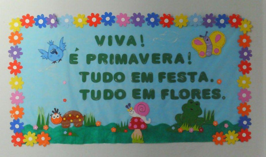 Painéis E Murais Para A Primavera 23 De Setembro Educação