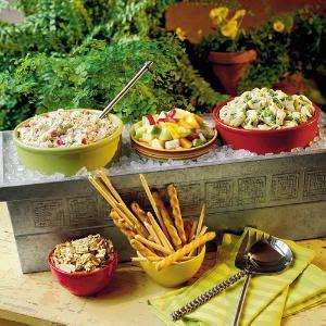 keep food on ice platter - Google Search