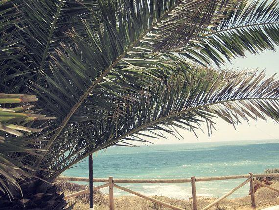 Foto Druck Palm Beach Poster Download von SundayVibesStudio auf Etsy