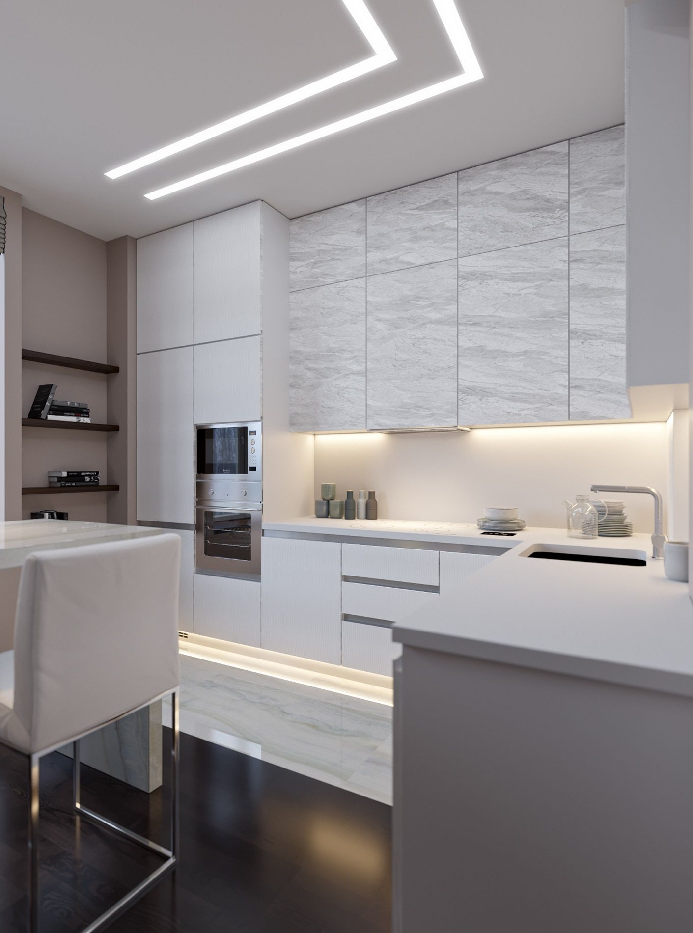 15 Ways To Use Led Strip Lights In Your Home Interior Design
