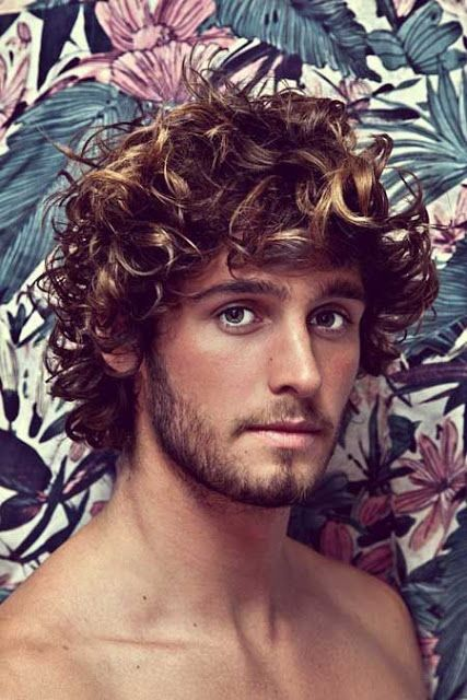 Top 10 Men S Curly Hairstyles