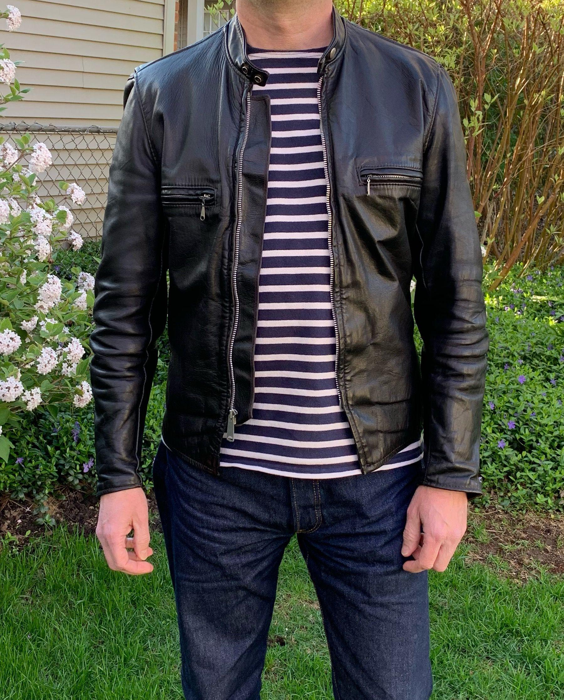 Vintage Brooks Gold Label Cafe Racer Jackets Leather Jacket Leather