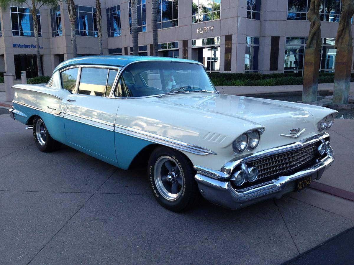 1956 chevrolet belair mjc classic cars pristine - 1958 Chevrolet Biscayne 2 Door Cars For Saleantique