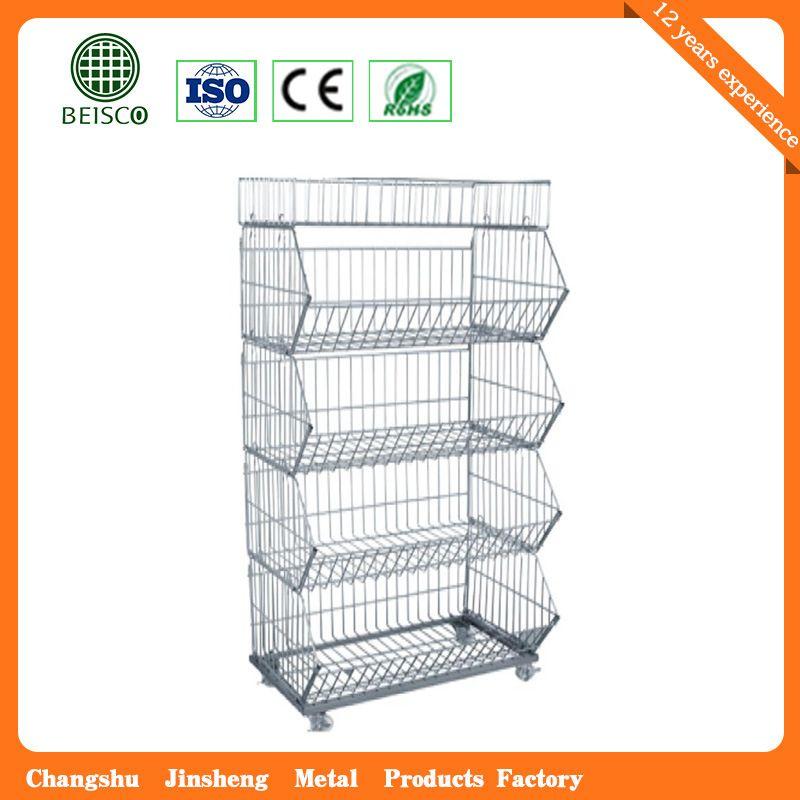 Hot Item Wholesale Steel Warehouse Storage Container In 2020 Storage Containers With Wheels Storage Containers Steel Casters