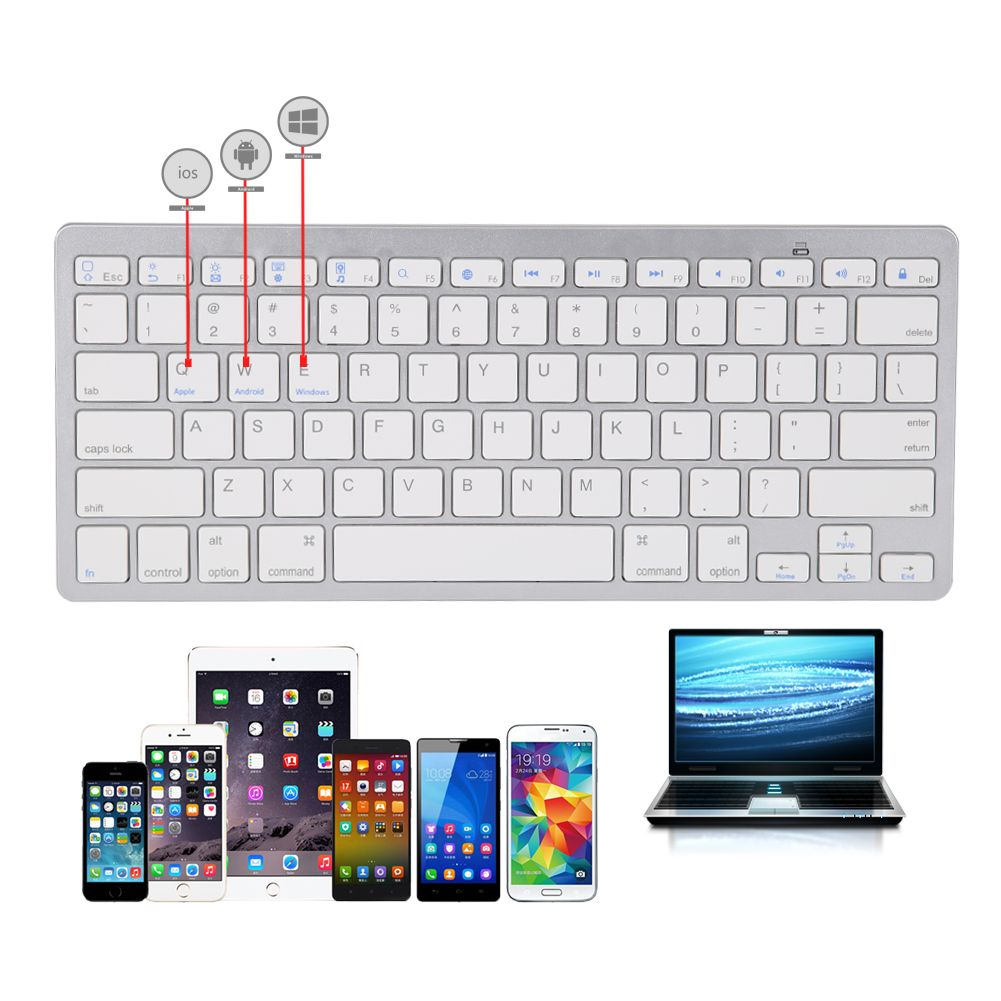 Universal Wireless Keyboard For Apple Mac Os System For Apple Ipad