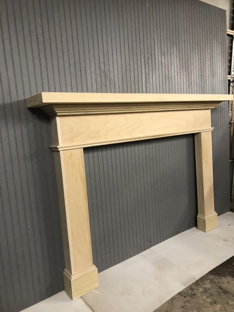 1022 Mantel Fireplace Surround ready to paint | Etsy