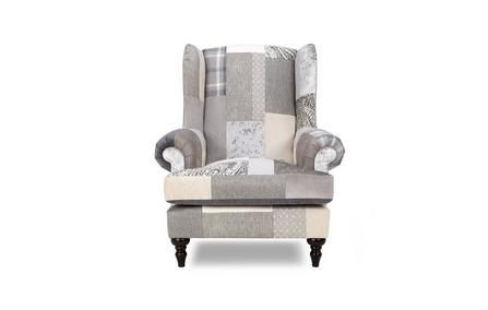 Patch Wing Chair Aspen Patch