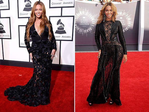 Look Alikes Celebrity Dresses Grammy 2015