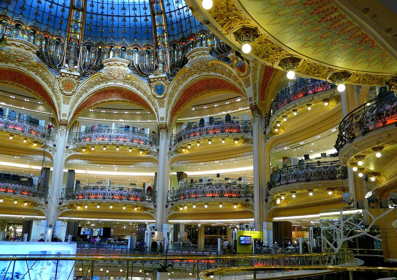 Galeries Lafayette Compras Em Paris Paris Compras