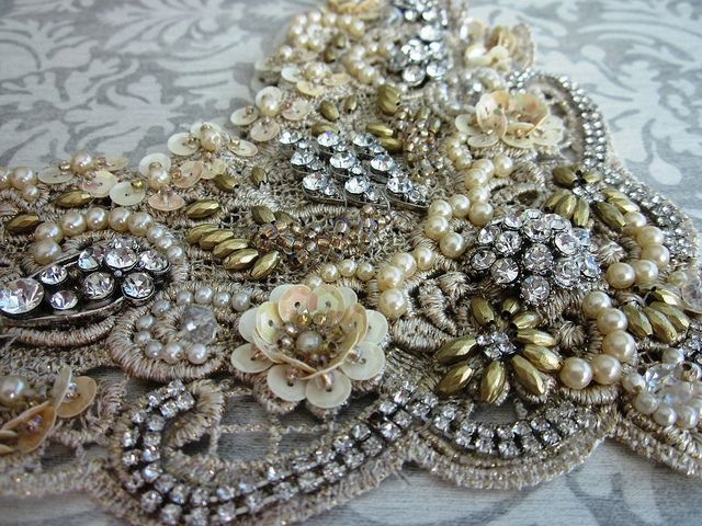Bridal Lace Necklace | www.facebook.com/magicalmysterytuca | Von: Magical Mystery Tuca | Flickr - Photo Sharing!