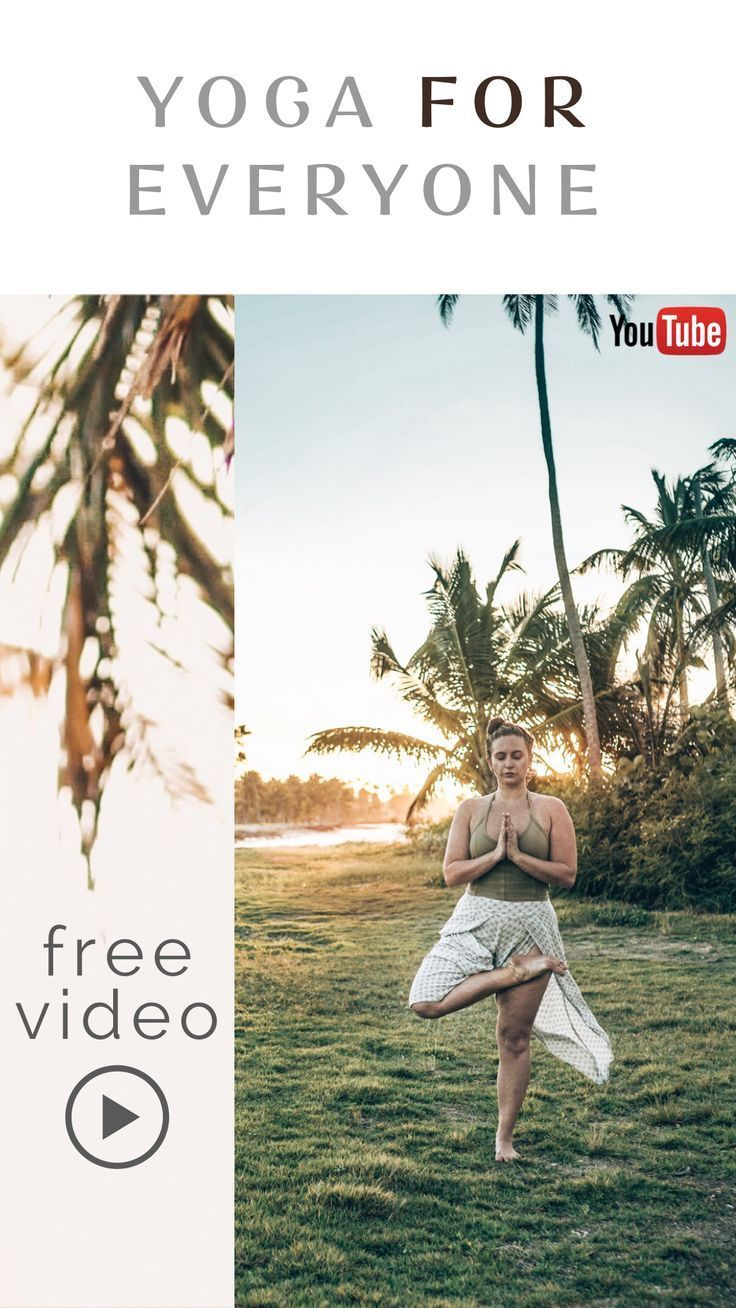 FREE YOGA VIDEO | Yoga for Everyone ☀ Your home yoga practice resource for free online yoga videos....