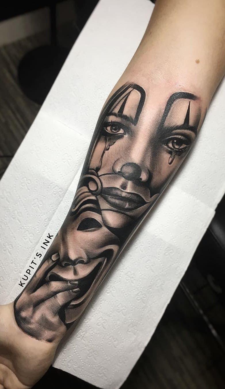 Tatuagens No Antebraco 100 Desenhos Masculinos Incriveis With